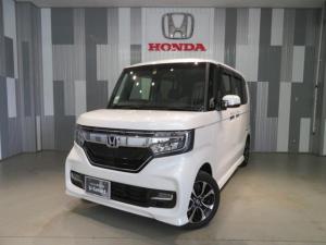 ホンダ N-BOXカスタム G・EXホンダセンシング ワンオーナー車 ギャザスメモリーナビ