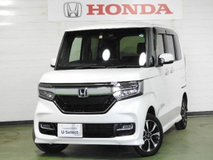 ホンダ N-BOXカスタム G・Lホンダセンシング サポカーS ドラレコ ETC 4WD