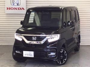 ホンダ N-BOXカスタム G・EX 衝突軽減ブレーキ装備 ターボ 4WD ETC ナビTV フルセグTV メモリーナビ