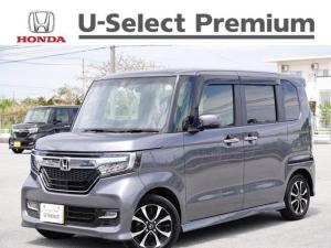 ホンダ N-BOXカスタム G・EXホンダセンシング デモカーアップ・衝突軽減ブレーキ付