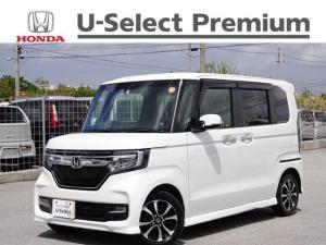 ホンダ N-BOXカスタム G・Lホンダセンシング デモカーアップ・衝突軽減ブレーキ付