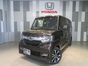ホンダ N-BOXカスタム G・Lホンダセンシング 当社デモカー ギャザスメモリーナビ