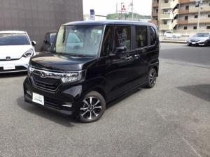 ホンダ N-BOXカスタム G・EXホンダセンシング 衝突軽減B Mナビ LEDヘッドライト