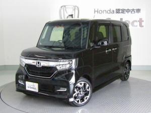 ホンダ N-BOXカスタム G・EXターボホンダセンシング 当社使用レンタアップ メモリーナビ