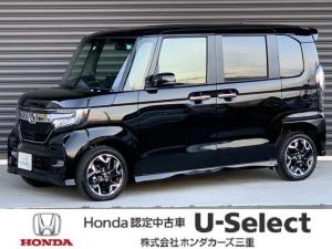 ホンダ N-BOXカスタム G・Lターボホンダセンシング 当社元試乗車 8インチナビ ドラレコ ETC