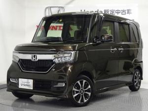 ホンダ N-BOXカスタム カスタム 660 G スロープ L ホンダセンシング 車いす 純正ナビ ETC シートヒータ