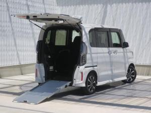 ホンダ N-BOXカスタム G・スロープLホンダセンシング 車いす装備 両側電動スライドドア 純正8インチメモリーナビ バックカメラ ドライブレコーダー