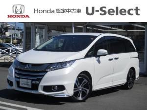 ホンダ オデッセイ アブソルート・Xホンダセンシング Honda インターナビリンクアップフリー ETC マルチビューカメラシステム スマートパーキングアシストシステム 17インチアルミホイール LEDアウターウエルカムライト
