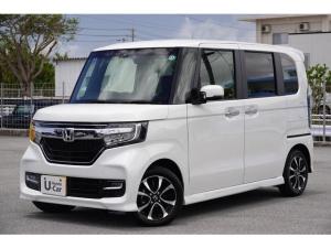 ホンダ N-BOXカスタム G・EXホンダセンシング 衝突軽減ブレーキ・ナビ付