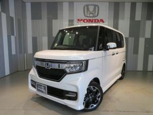 ホンダ N-BOXカスタム G・EXターボホンダセンシング 当社デモカー ギャザスメモリーナビ
