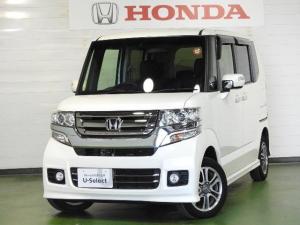 ホンダ N-BOXカスタム G・Lパッケージ ナビ リアカメラ ETC 4WD
