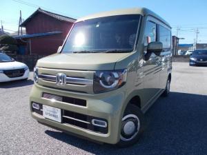 ホンダ N-VAN+スタイル ファン・ホンダセンシング デモカー 300キロ