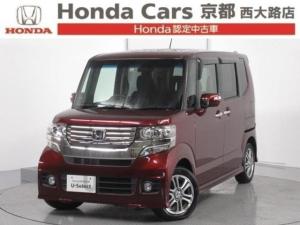 ホンダ N-BOX+カスタム G ナビ バックカメラ ETC 車いす仕様車