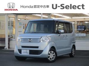 ホンダ N-BOX G 純正ナビ バックカメラ ECONモード Hondaスマートキーシステム Hondaスマートキー2個付 UVカット機能付ガラス フルホイールキャップ 電動格納式リモコンカラードドアミラー