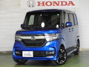 ホンダ N-BOXカスタム G・EXターボホンダセンシング サポカーS ナビ リアカメラ 4WD