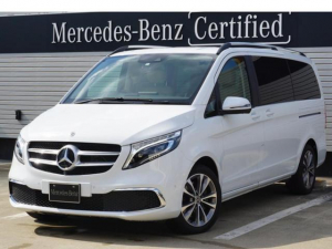 メルセデス・ベンツ Vクラス V220d アバンギャルド ロング 認定中古車保証2年付 元デモカー エクスクルーシブシートパッケージ