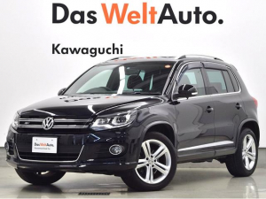 iフォルクスワーゲン VW ティグアン TSI BlueMotion Technology R-Line Package NAVI ETC BC