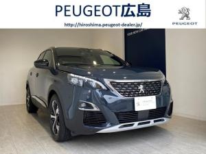 プジョー 3008 GTライン ブルーHDi サンルーフ・純正ナビ・TV・ETC