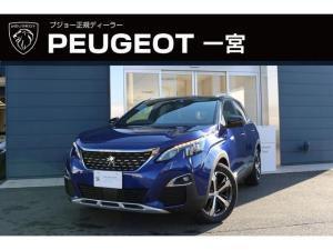 プジョー 3008 GTライン ブルーHDi 新車保証継承 元試乗車 純正ナビ付