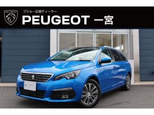 プジョー 308 SW ROADTRIP BlueHDi 新車保証継承 元試乗車 ガラスルーフ ナビ付