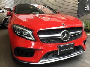 メルセデスAMG GLAクラス GLA45 4MATIC 2年保証 新車保証