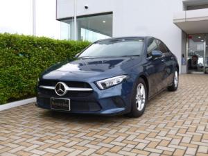 メルセデス・ベンツ Aクラスセダン A180 スタイル セダン レーダーセーフティパッケージ ナビゲーションパッケージ 2年保証 新車保証