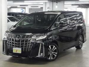 トヨタ アルファード S CパケJBL全方位ナビ後席モニターS/R3眼LED黒革
