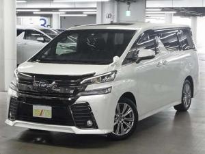 トヨタ ヴェルファイア 2.5Z AEDゴールデンアイズS/R両側自動後席モニター