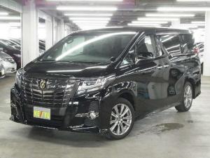 トヨタ アルファード S Aパッケージ タイプブラック 10インチツインモニター
