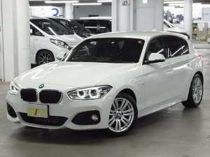 BMW 1シリーズ 118i Mスポーツ 後期 衝突回避・被害軽減ブレーキ iDrive バックカメラ パーキングセンサー ミラー一体型ETC クルーズコントロール ヘキサゴンクロス&アルカンタラシート レーンディパーチャーウォーニング 禁煙