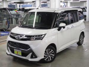 トヨタ タンク カスタムG S スマートアシストII 両側電動スライドドア LEDライト クルーズコントロール アイドリングストップ シートヒーター 純正14アルミ SDナビ 12セグTV BluetoothAudio リアカメラ