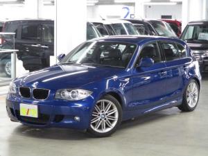 BMW 1シリーズ 116i Mスポーツパッケージ AUX接続 ETC ハーフレザーシート ランフラットタイヤ・純正17インチアルミ 取扱説明書 禁煙車