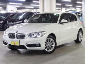 BMW 1シリーズ 118d スタイル 後期 衝突被害軽減ブレーキ パーキングサポートパッケージ iDriveHDDナビ バックカメラ BTオーディオ ミラー一体ETC アイドリングストップ パーキングセンサー クルーズコントロール LED