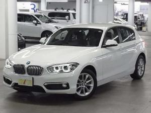 BMW 1シリーズ 118i スタイル 後期 1オーナー 衝突軽減ブレーキ ドライブレコーダー iDriveHDDナビ Bluetooth バックカメラ バックソナー クルーズコントロール アイドリングストップ ETC ランフラットタイヤ