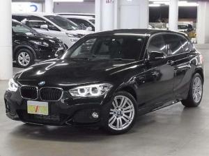 BMW 1シリーズ 118d Mスポーツ 後期 衝突被害軽減ブレーキ レーンアシスト iDriveHDDナビ Bluetooth バックカメラ CD・DVD再生 ETC クルコン アイドリングストップ LEDヘッドランプ スマートキー 禁煙車
