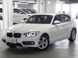 BMW 1シリーズ 118d スポーツ 後期 ディーゼルターボ インテリジェントセーフティ パーキングセンサー ドラレコ クルコン iDrive バックカメラ フルセグTV Bluetooth ETC2.0 ランフラット・純正16AW 禁煙
