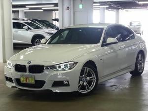 BMW 3シリーズ 320d Mスポーツ ディーゼルターボ パーキングセンサー iDriveナビ バックカメラ Bluetooth DVD ETC搭載ルームミラー メモリー付パワーシート パドルシフト アイドリングストップ スペアキー有 禁煙