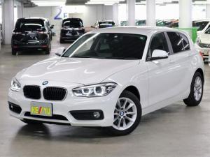 BMW 1シリーズ 118i 前後ドライブレコーダー パーキングセンサー iDriveナビ バックカメラ Bluetooth ETC CD・DVD LEDヘッドライト アイドリングストップ ランフラット 取扱説明書・記録簿 禁煙車