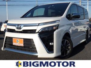 トヨタ ヴォクシー ZS 煌 トヨタセーフティセンス レンタカーアップ ETC