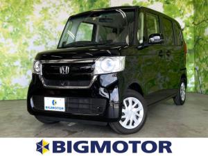 ホンダ N-BOX G・Lホンダセンシング 修復歴無 電動スライドドア 禁煙車 エアバッグ ABS EBD付ABS 衝突安全ボディ 4WD ヘッドランプ LED エンジンスタートボタン シートヒーター