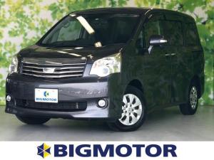 トヨタ ノア X スマートエディション 盗難防止システム バックモニター