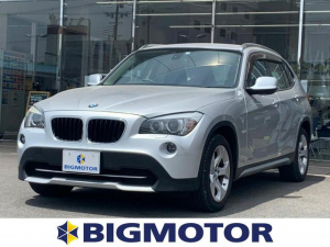 BMW X1 sDrive18i メーカーOPナビ/プッシュスタート