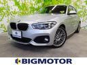 BMW/BMW 118i_Mスポーツ 純正ナビ/レザーシート バックモニター
