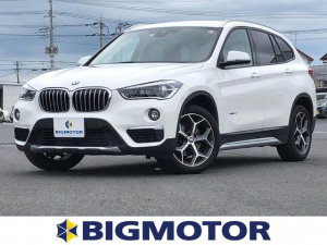 BMW X1 xDrive18d xライン 純正ナビ/ETC 禁煙車