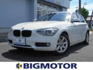 BMW 1シリーズ 116i 8.8インチナビ/TVチューナー 修復歴無 ETC