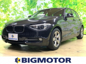 BMW 1シリーズ 116iスポーツ 修復歴無 禁煙車 盗難防止システム ETC