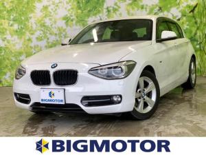 BMW 1シリーズ 116iスポーツ 純正ナビ、バックモニター