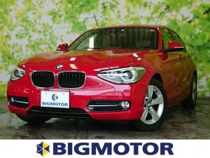 BMW 1シリーズ 116iスポーツ 修復歴無 HDDナビ アルミタイヤ ETC