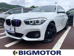 BMW 1シリーズ 118d Mスポーツエディションシャドー 修復歴無 ETC