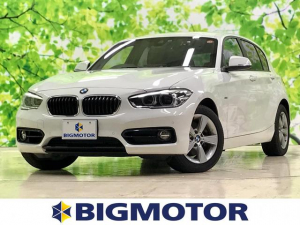 BMW 1シリーズ 118iスポーツ 修復歴無 ワンオーナー キーレス ナビ